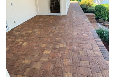 New deck pavers