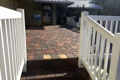 Paver Entrance in Fort Myers