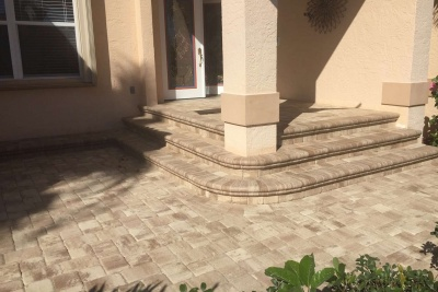 Paver Entry - Naples