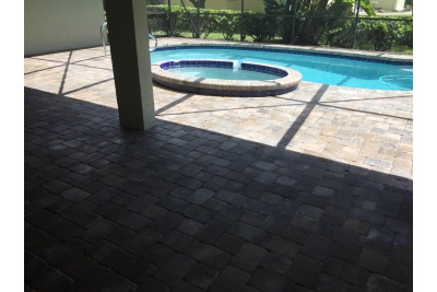 Pool paver remodel - after