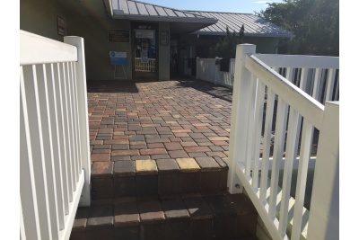 New paver steps