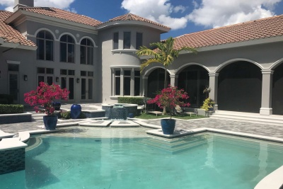 Pool Deck Pavers in Naples
