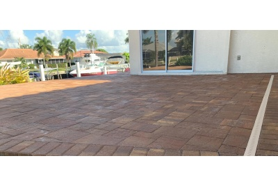New paver deck