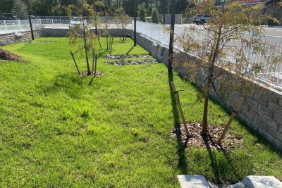 Commercial Retaining Wall in North Port, FL