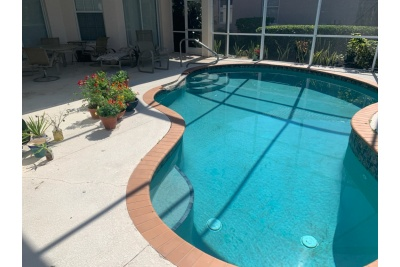 Pool Deck - Venice, FL - Before