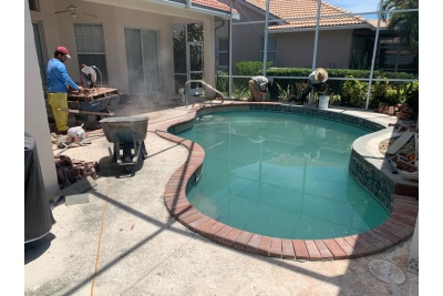 Pool Deck in Venice, FL Construction